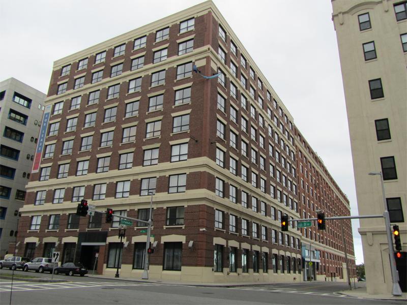 Boston Herald - Seaport Center at 451 D St. Boston MA