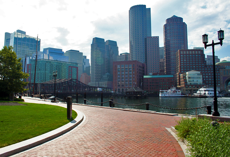 Boston Waterfront - Boston Innovation District - Boston Harborwalk