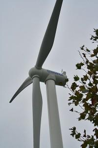 Charlestown MA MWRA Wind Turbine - Boston Waterfront