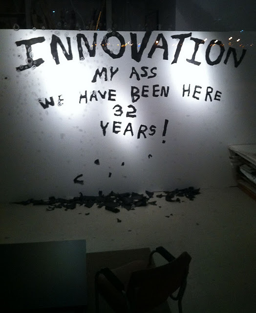 "Innovation District Boston My Ass ""We have been here 32 years!"""