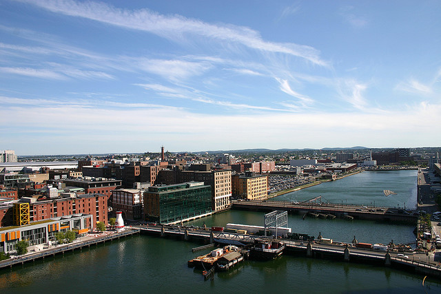 Fort Point Channel Boston - Boston's Innovation District