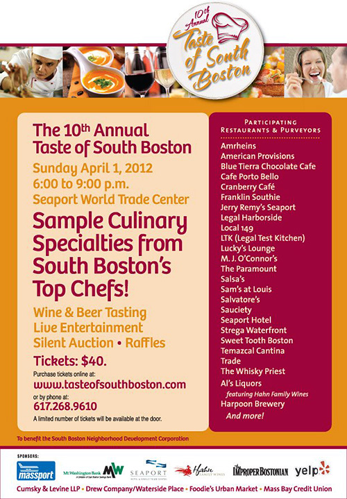 Taste of South Boston 2012 - CLICK HERE