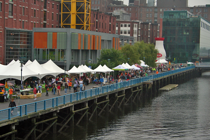 Fort Point Channel Boston Local Food Festival