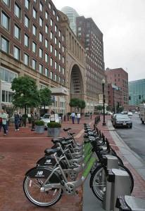 Boston New Balance Hubway Bicycle Sharing Program